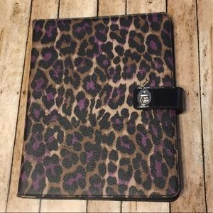 Coach Signature Ocelot Print iPad Tablet Case